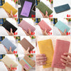 New Fashion Vintage Women Purse Female Slim Long Wallet Card Holder Bag Matte Leather Wallets - Sarahs Collection