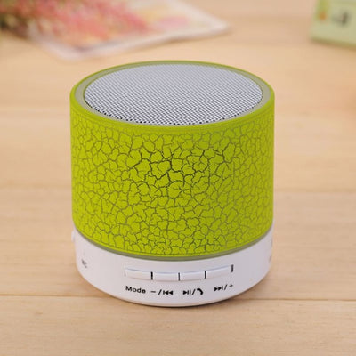Portable Wireless Mini LED Bluetooth Speakers For Phone With Mic Music Audio TF USB FM Light Stereo Sound Speaker - Sarahs Collection