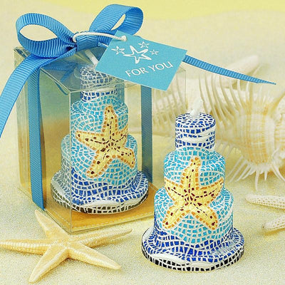 Romantic wedding decoration candle cake candles supplies starfish small gift birthday candle Scented candle - Sarahs Collection