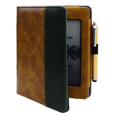 For Kindle Touch (2012 old model) D01200 Flip book cover case - pretty case pouch for Amazon kindle Touch 2011 model cover + pen - Sarahs Collection