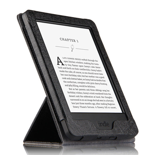 c0613b27a Case For Kindle Paperwhite PU Protective eBook Reader Smart Cover Protector  leather For Amazon Kindle Paperwhite