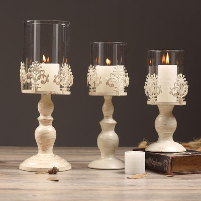 Metal Candelabra Centerpieces Center Table Candlesticks Wedding Parties Decor Candle Holder - Sarahs Collection