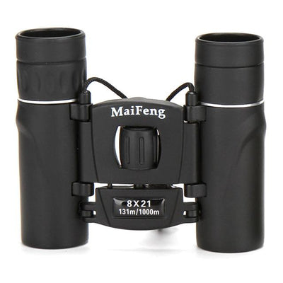 New hunting 22X25 Compact All-optical BAK4 Binoculars Telescope Folding Telescopes with green film - Sarahs Collection