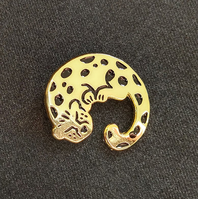 Cheetah pins
