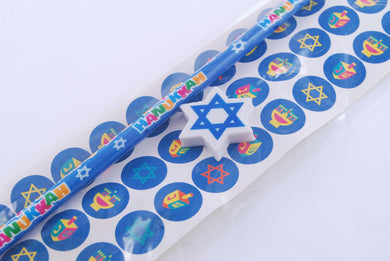 Hanukkah Stationary Set