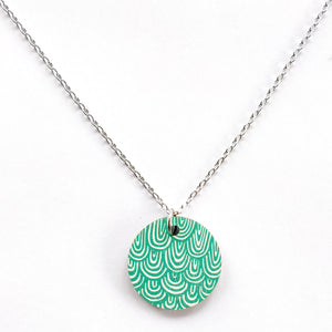 Laine Necklace Green