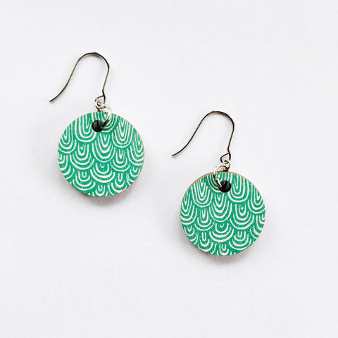 LAINE EARRINGS Green