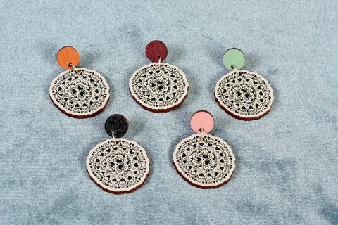 Sydänkäpy Color Earrings
