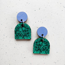 Tilkku Earrings Lavender/Turquoise