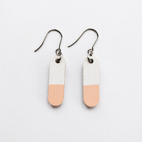 Pastilli Earrings Peach