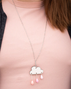 Pouta Necklace Pink