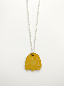 Käpy Necklace Yellow