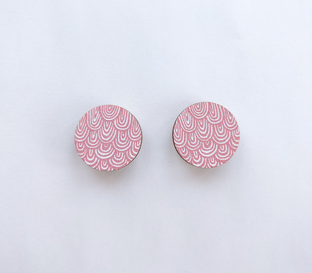 Laine mini Earrings Pink