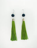 Sini Earrings Green