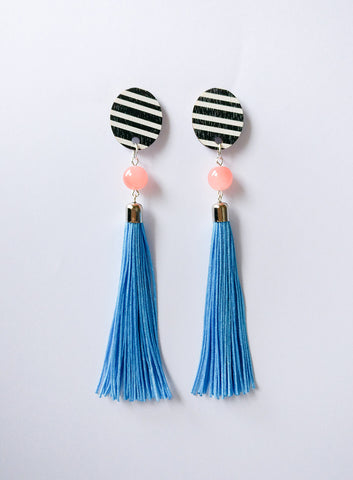 Muoto Earrings Light Blue