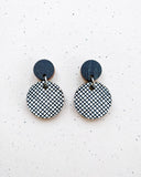 Hento Earrings Black