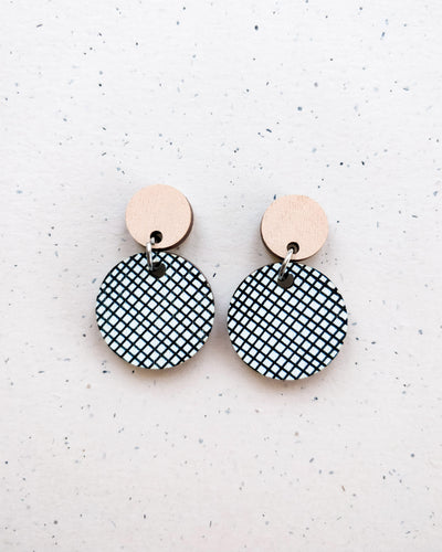 Hento Earrings Peach