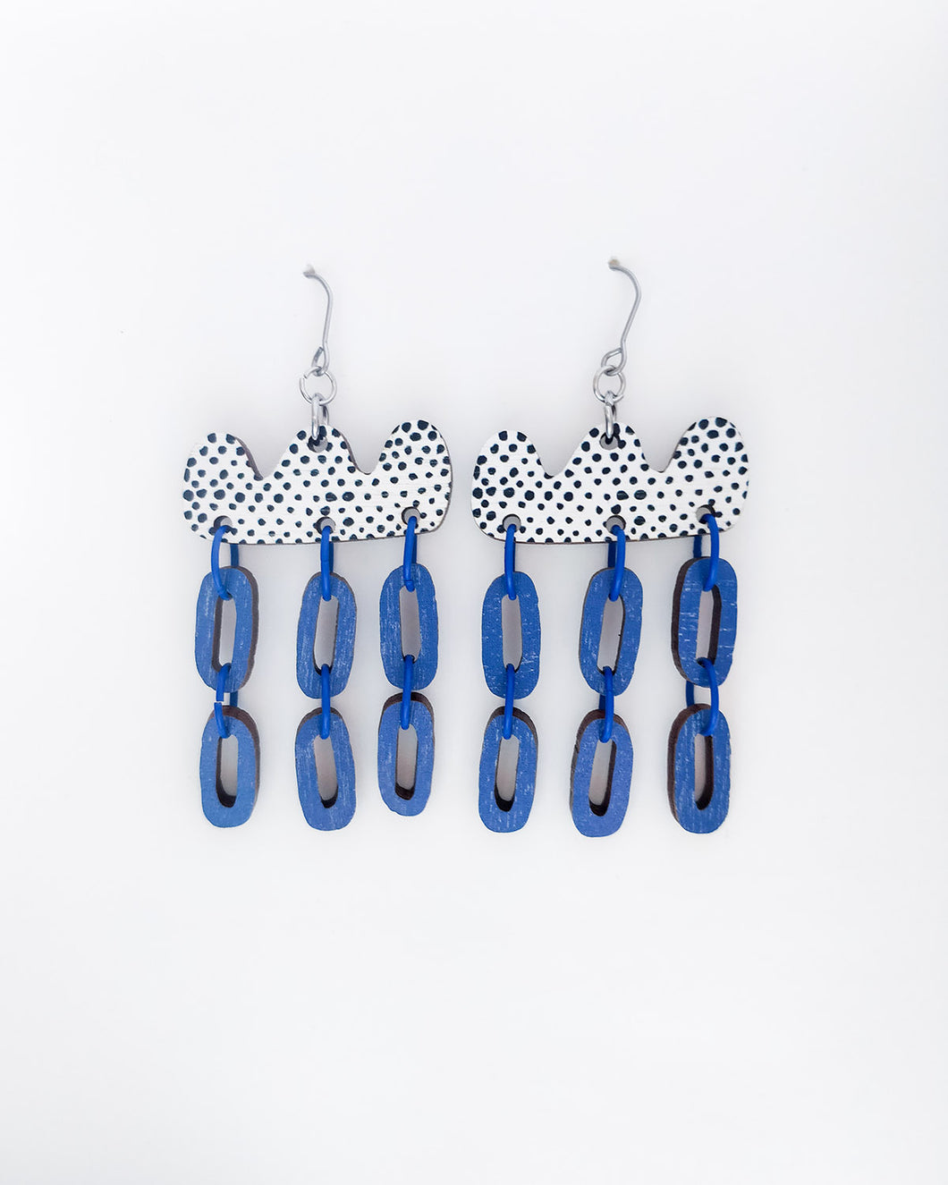 Päivä Earrings Blue