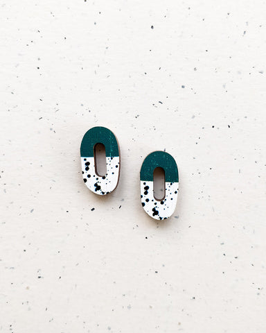 Rinkeli Mini Earrings Green