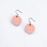 Laine Earrings Large Pink