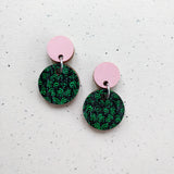 Tilkku Earrings Pink/Green