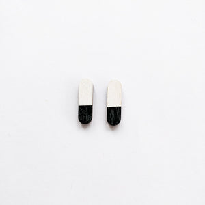 Pastilli mini Earrings Black