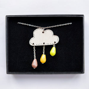 Pouta Necklace Yellow
