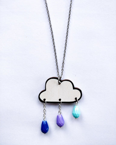 Pouta Necklace Blue