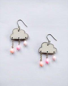 Pouta Earrings Pink