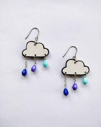 Pouta Earrings Blue