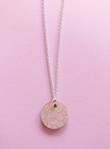 Laine Necklace Pink