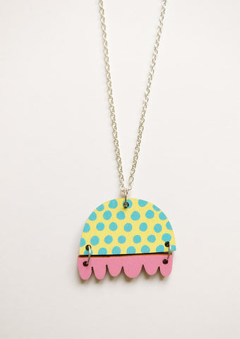 Kissankello Necklace pastel blue/pink