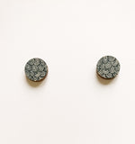 Laine mini Earrings Black