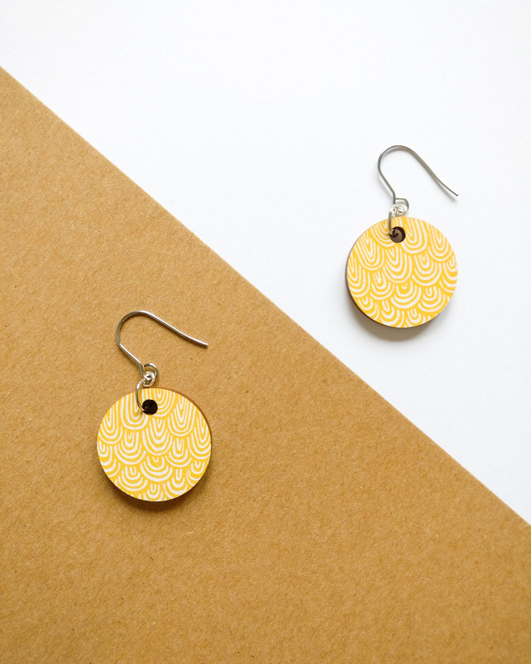 Laine Earrings Yellow
