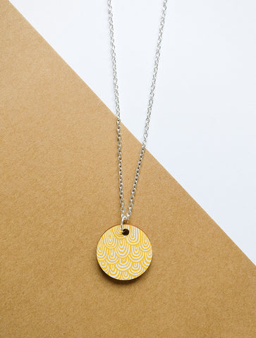 Laine Necklace Yellow