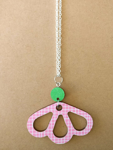 Tuomi Necklace Pink/Green