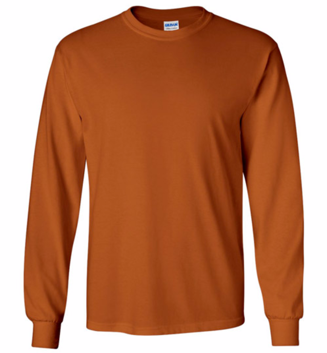 gildan long sleeve shirt