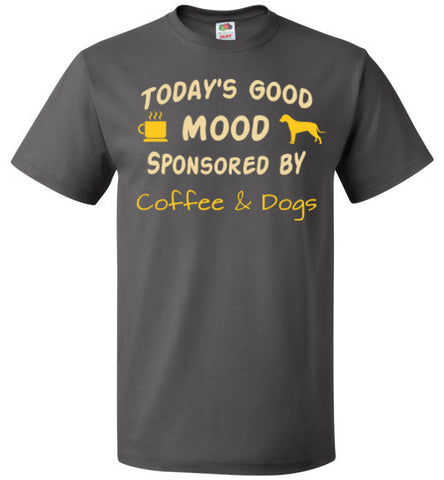 Today's Good Mood Sponsored by Coffee & Dogs - Tail Threads