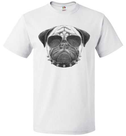 Bad Boy Pug - Unisex - Tail Threads