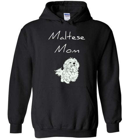 Maltese Mom - Hoodie - Tail Threads