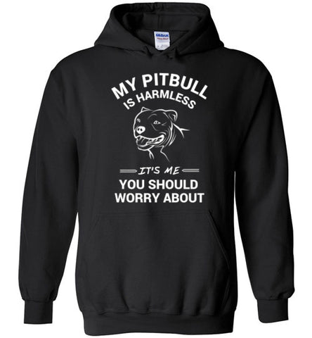Mt Pit Bull Is Harmless - Hoodies - Tail Threads