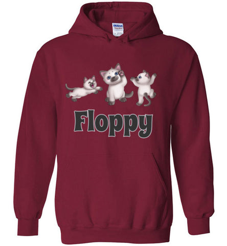 Floppy Ragdoll - Hoodie - Tail Threads