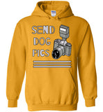 Send Dog Pics 2 - Hoodie - Tail Threads