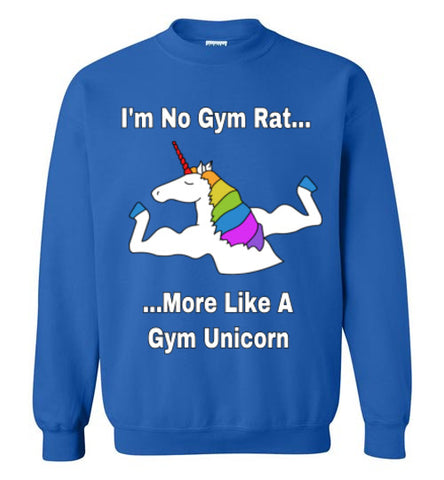 More Like A Gym Unicorn - Crewneck - Tail Threads