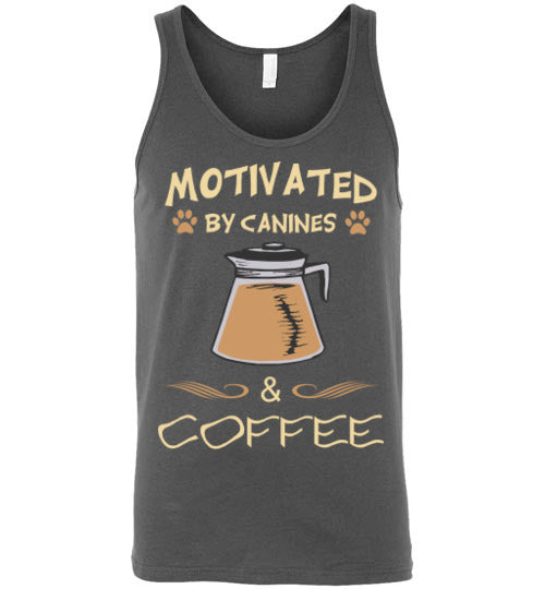 Motivated by Canines & Coffee - Tank