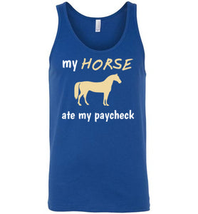 My Horse Ate My Paycheck - Tank