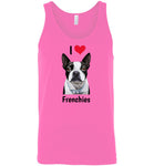 I Love Frenchies - Unisex Tank