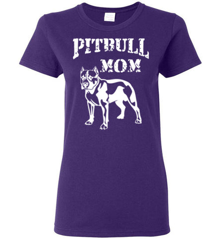 Pitbull Mom - Ladies Cut - Tail Threads