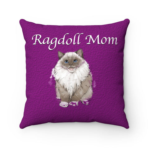 Ragdoll Mom - Pillow - Tail Threads
