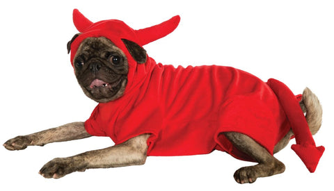 Devil Dawg Pet Hoodie-Pet Costume-1-Classic Horror Shop